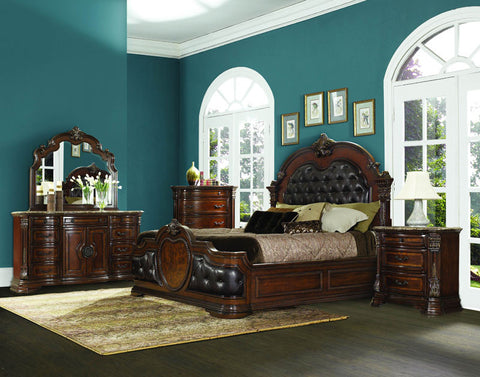 Homelegance 1919-4 Antoinetta Collection Color Warm Cherry - Peazz.com