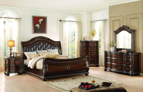 Homelegance 1945-6 Chaumont Collection Color Burnished Brown - Peazz.com