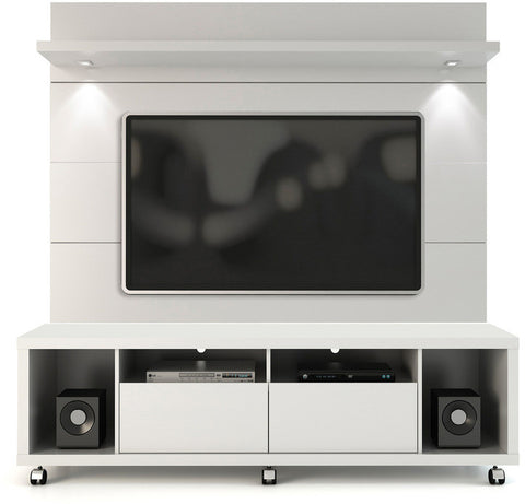 Manhattan Comfort 2-1548482252 Cabrini Collection White Gloss Finish - Peazz.com - 1