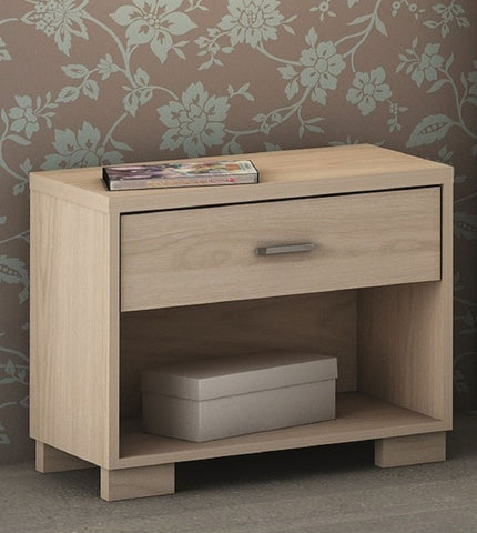 Manhattan Comfort 2-65062 Astor Collection Oak Vanilla Finish - Peazz.com - 1
