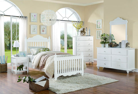 Homelegance 2019W-5 Emmaline Collection Color White - Peazz.com