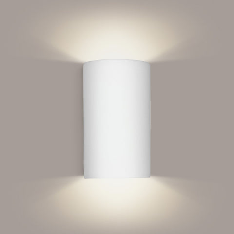 A19 203-WETST-CFL13-MB2 Islands of Light Collection Tenos Zinc White Marble Finish