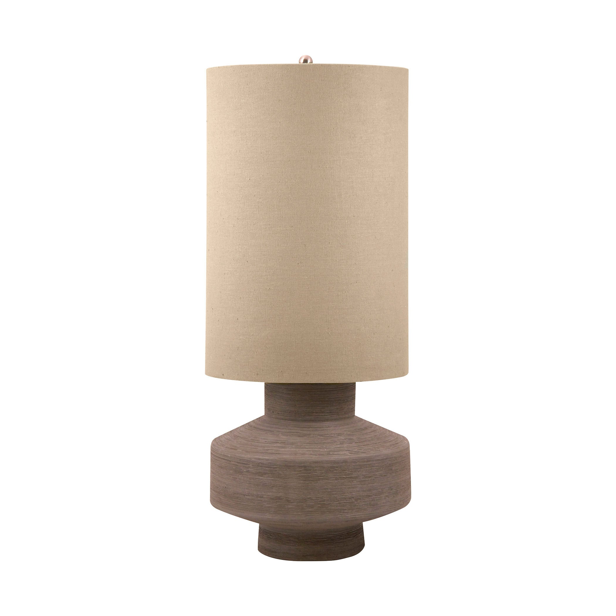 Taupe | Table | Lamp