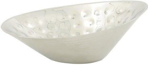 "Bayden Hill Ssteel Dbl Wall Oval Bowl 13""W, 5 - Peazz.com"