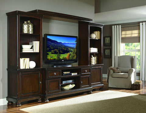 Homelegance 21590-B Cumberland Collection Color Rich Medium Brown(Bridge Only) - Peazz.com