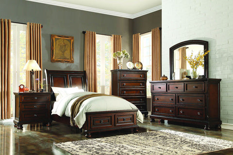 Homelegance 2159T-1 Cumberland Collection Color Rich Medium Brown - Peazz.com
