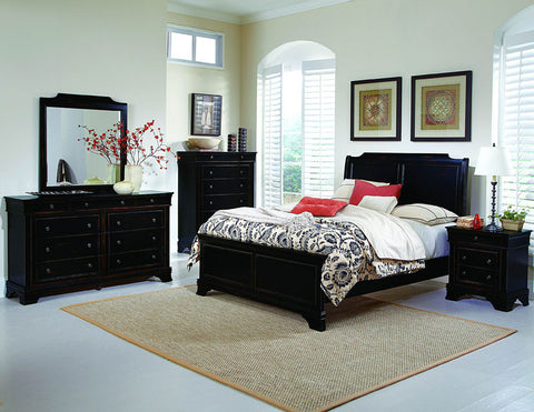 Homelegance 2223K-1CK Derby Run Collection Color Black Sand Through - Peazz.com