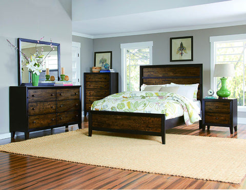 Homelegance 2277-9 Arcola Collection Color Espresso / Drifted Oak - Peazz.com