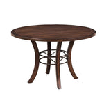 Hillsdale 4671DTBW Cameron Round Wood Dining Table w/Metal Ring