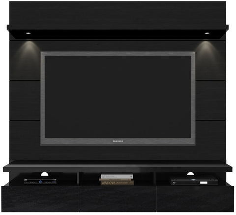 Manhattan Comfort 23753 Cabrini Collection Black Gloss and Black Matte Finish - Peazz.com - 1