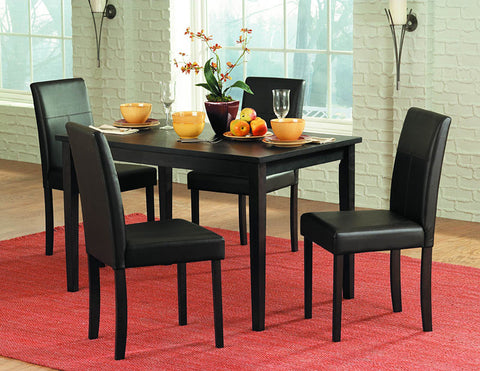 Homelegance 2434S Dover Collection Color Rich Espresso (Set of 4) - Peazz.com