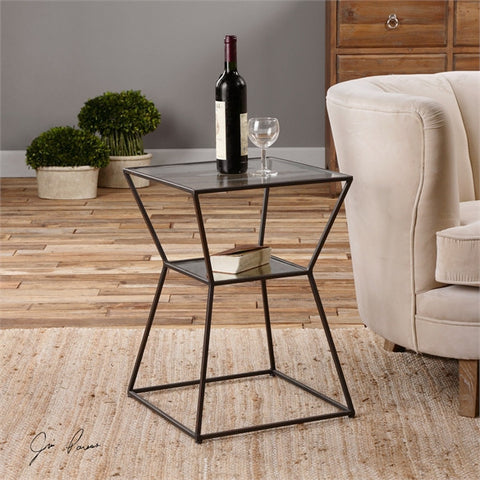 Uttermost Auryon Iron Accent Table (24438) - UTMDirect