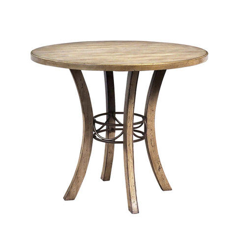 Hillsdale 4670CTB Charleston Round Wood Counter Height Table