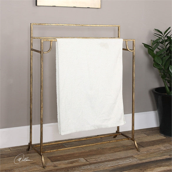 Uttermost Perico Gold Towel Stand (24544) UTT-24544