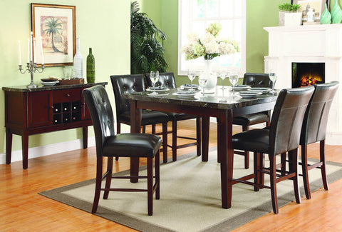 Homelegance 2456-24 Decatur Collection Color Espresso (Set of 2) - Peazz.com