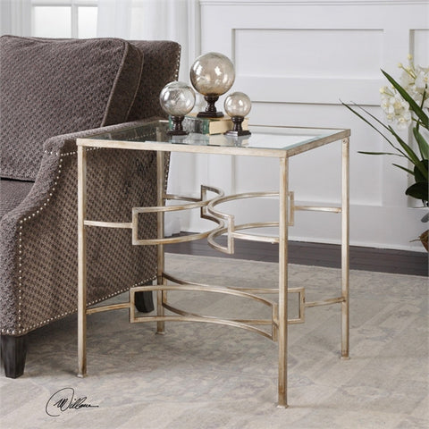 Uttermost Eilinora Silver End Table (24635) - UTMDirect