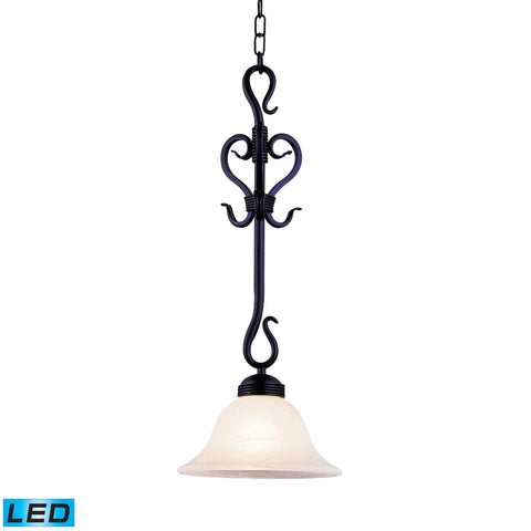 ELK Lighting 251-BK-LED Buckingham Collection Matte Black Finish - PeazzLighting
