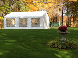 ShelterLogic 25927 20'X20'/ 6X6M Party Tent White Enclosure Kit With Windows - Peazz.com - 2