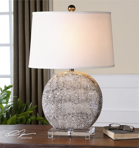 Uttermost Albinus White Lamp (26132) - UTMDirect