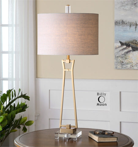 Uttermost Leonidas Gold Table Lamp (26144-1) - UTMDirect