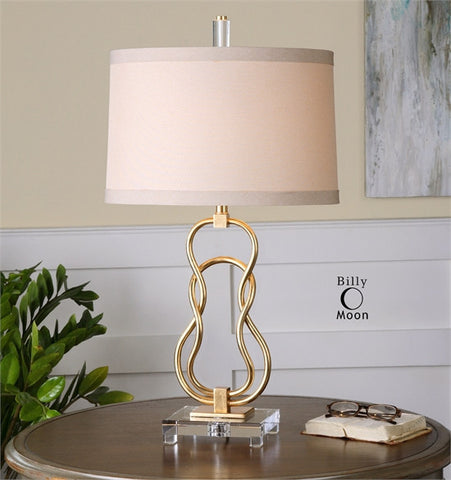 Uttermost Adelais Curved Metal Lamp (26169) - UTMDirect