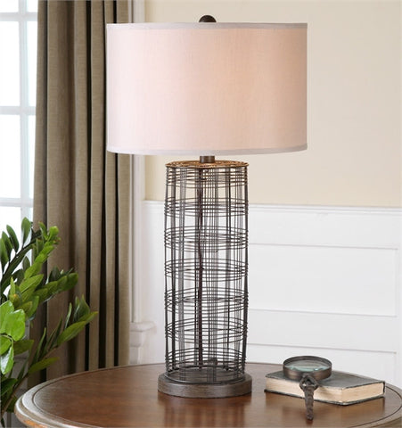 Uttermost Engel Metal Wire Lamp (26177-1) - UTMDirect