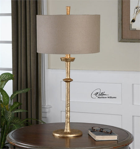Uttermost Heraclius Gold Table Lamp (26188) - UTMDirect