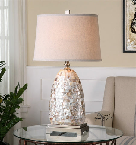 Uttermost Capurso Capiz Shell Table Lamp (26505) - UTMDirect