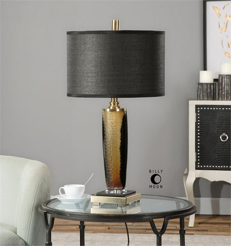 Uttermost Circello Textured Glass Table Lamp (26602-1) - UTMDirect