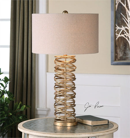 Uttermost Amarey Metal Ring Table Lamp (26609-1) - UTMDirect