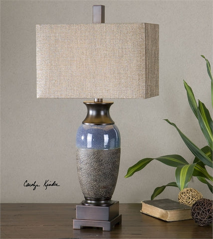 Uttermost Antonito Textured Ceramic Table Lamp (26935-1) - UTMDirect
