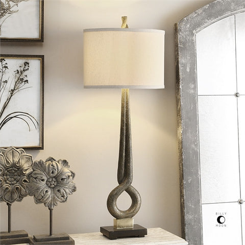 Uttermost Jandari Golden Bronze Lamp (27032-1) - UTMDirect
