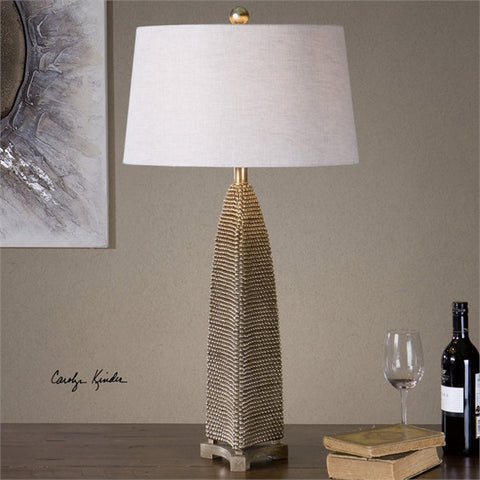 Uttermost Kolva Antiqued Silver Table Lamp (27170) - UTMDirect