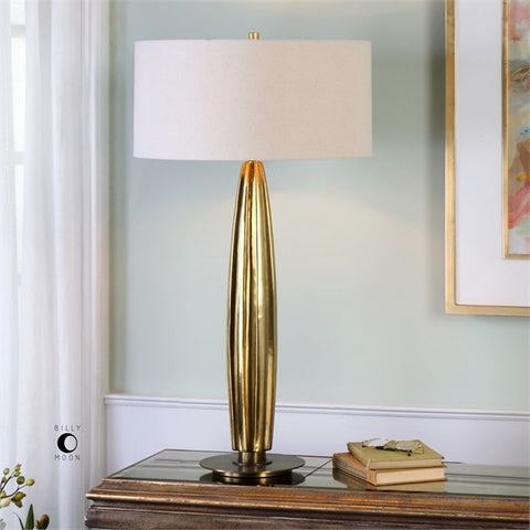 Uttermost Bremner Gold Table Lamp (27193) - UTMDirect