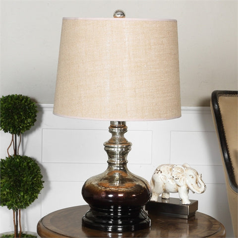 Uttermost Casorzo Mercury Glass Table Lamp (27748) - UTMDirect