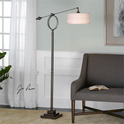Uttermost Levisa Brushed Bronze Floor Lamp (28082-1) - UTMDirect