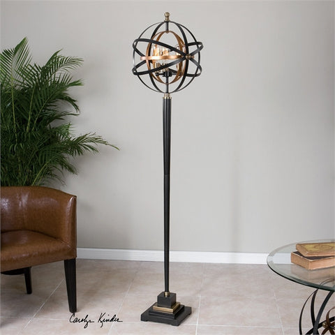 Uttermost Rondure Sphere Floor Lamp (28087-1) - UTMDirect