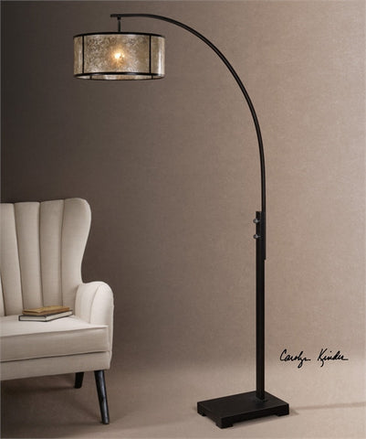 Uttermost Cairano Drum Shade Floor Lamp (28597-1) - UTMDirect
