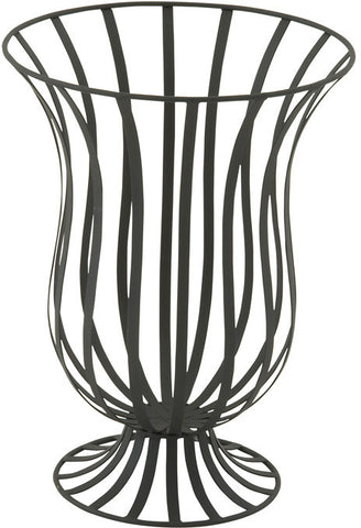 "Bayden Hill Mtl Outdoor Planter 13""W, 18""H - Peazz.com"