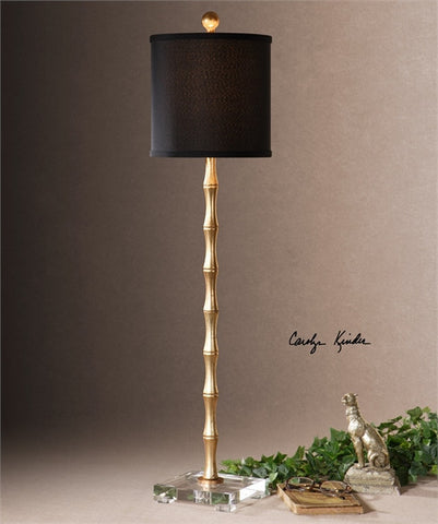 Uttermost Quindici Metal Bamboo Buffet Lamp (29585-1) - UTMDirect