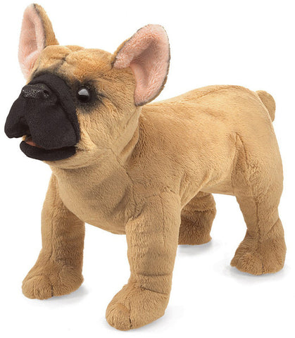Folkmanis 3066 French Bulldog, Hand Puppet - Peazz.com - 1