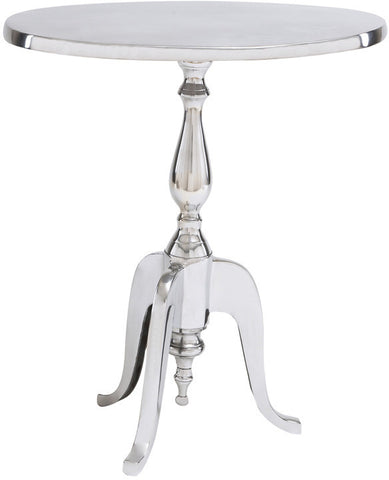 Benzara 30794 Aluminum Oval Accent Table Exhibits Special Liking For Homedecor