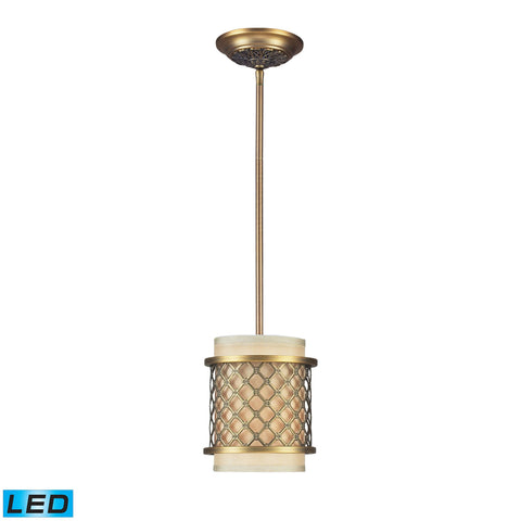 ELK Lighting 31032/1-LED Chester Collection Brushed Antique Brass Finish - PeazzLighting