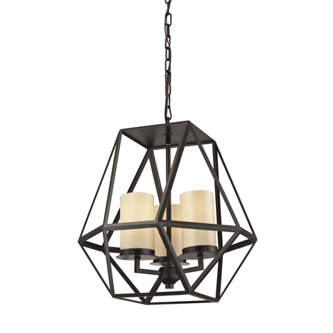 ELK Lighting 31186/3 Delaney Collection Oil Rubbed Bronze Finish - PeazzLighting