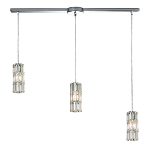 ELK Lighting 31486/3L Cynthia Collection Polished Chrome Finish - PeazzLighting