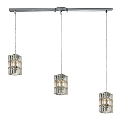 ELK Lighting 31488/3L Cynthia Collection Polished Chrome Finish - PeazzLighting