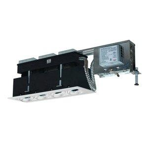 Jesco Lighting MMGRMH1639-4EAW 4-Light Linear Remodel (Metal Halide) Includes 120V Electronic Ballast