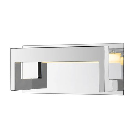 1-Light Architectural Wall Sconce