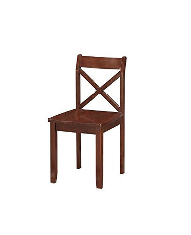 Boraam 21101 Jamie Dining Chair (Set of 2), Cappuccino