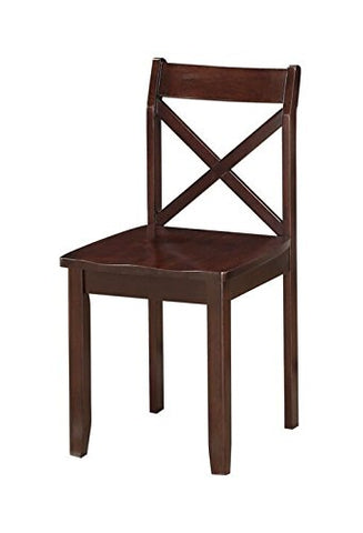 Boraam 21201 Jamie Dining Chair (Set of 2), Cherry